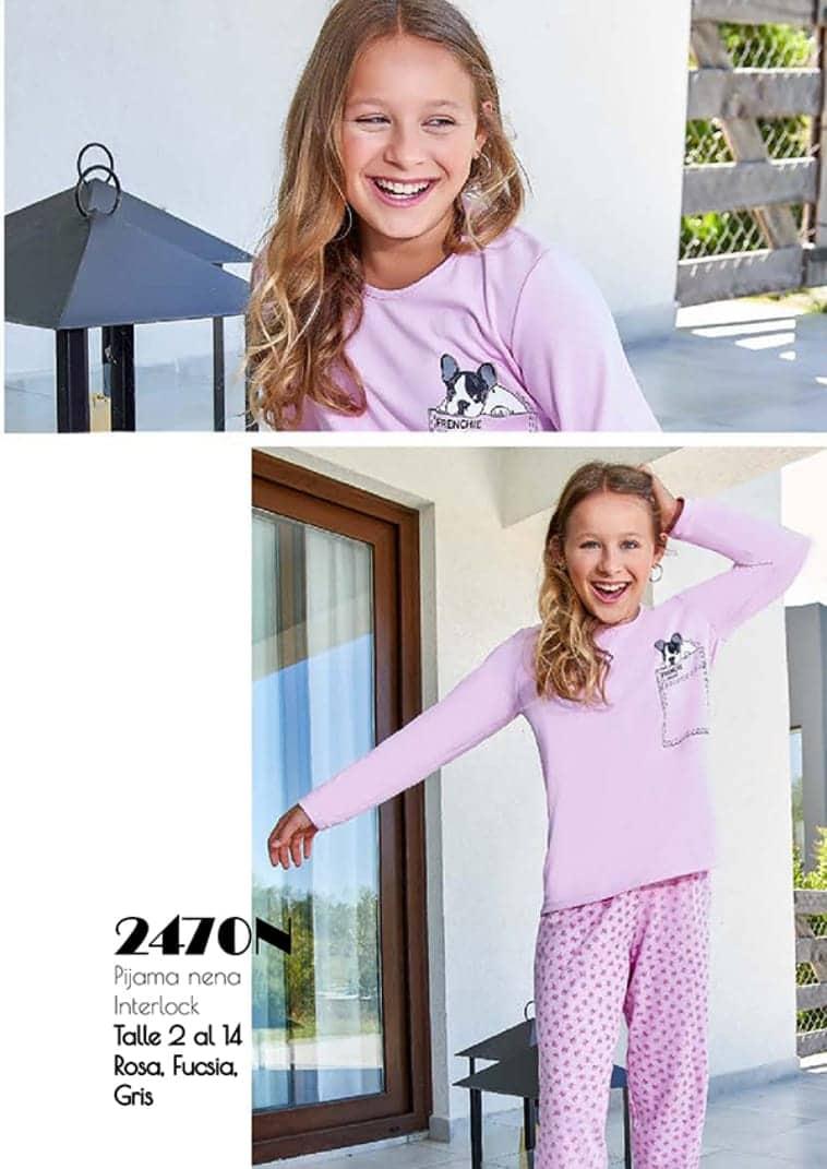 ad939b510d9b3e Pijama Nena Interlock - Niños - Pijamas Invierno 2019 - Michi ...