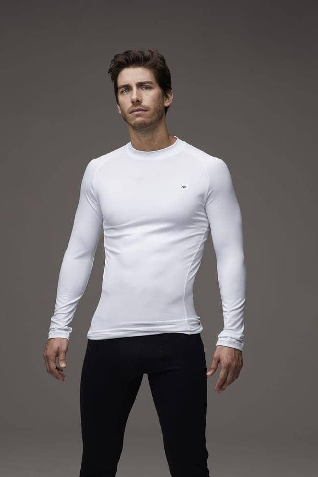 Camiseta térmica microfibra con lycra, anatómica - Hombre ...