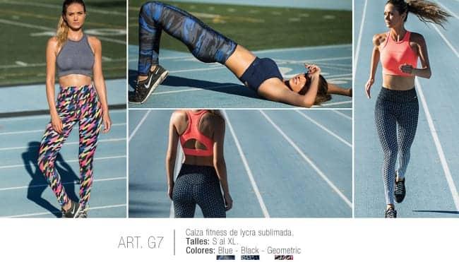 Calza fitness de lycra sublimada - Mujer - Conjuntos Corpiños ... ab1aec3b486a